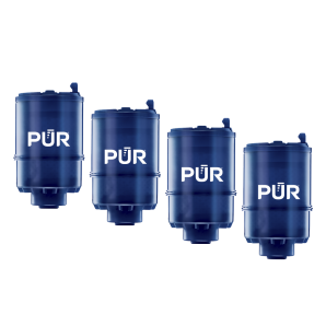 PUR PLUS Mineral Core™  Faucet Filter, 4 Pack